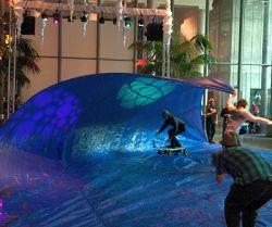 Tarp Surfing. Foto: Flickr/Jesse Wagstaff
