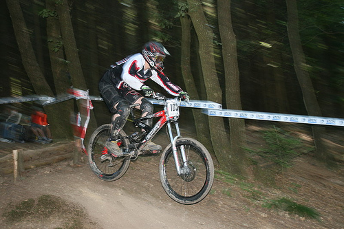 Mountainbike Downhill ©  Tanja de Bie / Flickr